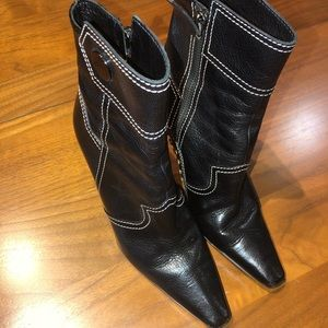 Todd Black Ankle Boot